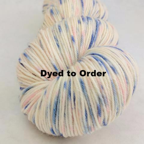 Springtime in Paris Speckled Handpaint Skeins, dyed to order