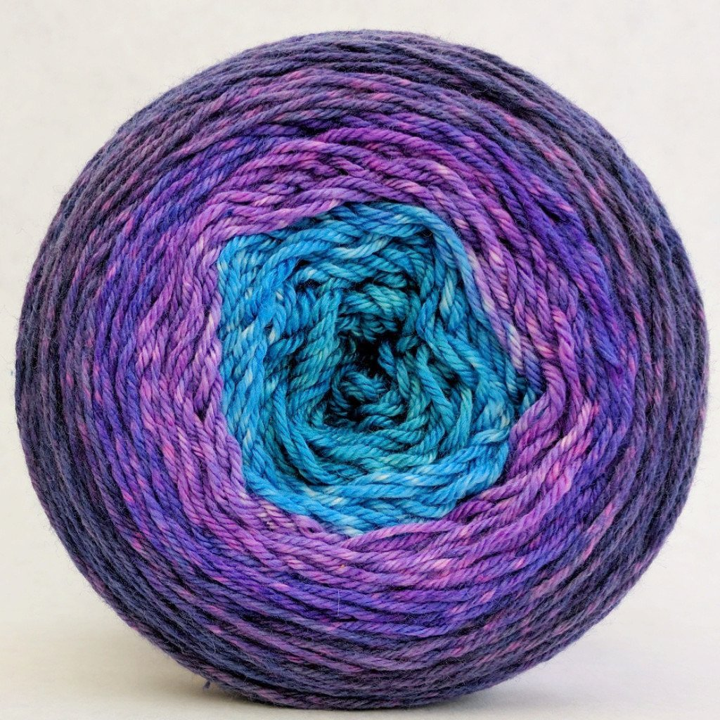The Knit Sky 100g Panoramic Gradient, Parasol, ready to ship