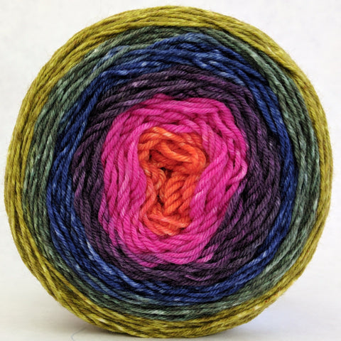 Big Top Birthday 100g Panoramic Gradient, Greatest of Ease, dyed to order