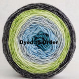 Growing Like A Weed Panoramic Gradient, dyed to order