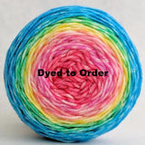 Cindy Lou Who Panoramic Gradient, dyed to order