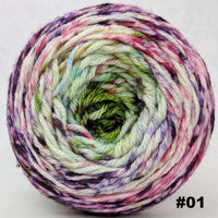 Knitcircus Yarns: Many Happy Returns 100g Impressionist Gradient, Ringmaster, choose your cake, ready to ship yarn