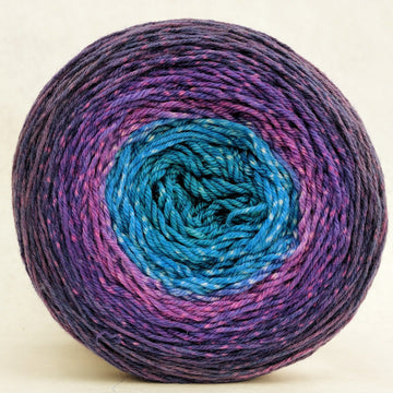 Knitcircus Yarns: The Knit Sky 150g Panoramic Gradient, Parasol, ready to ship yarn