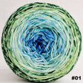 Knitcircus Yarns: Frog and Toad 100g Impressionist Gradient, Trampoline, choose your cake, ready to ship yarn