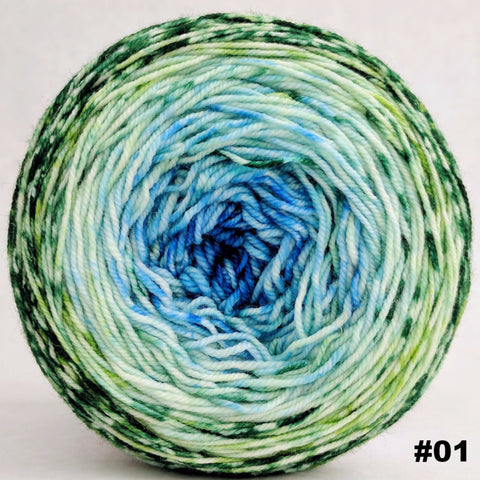 Frog and Toad 100g Impressionist Gradient, Trampoline, choose your cake, ready to ship