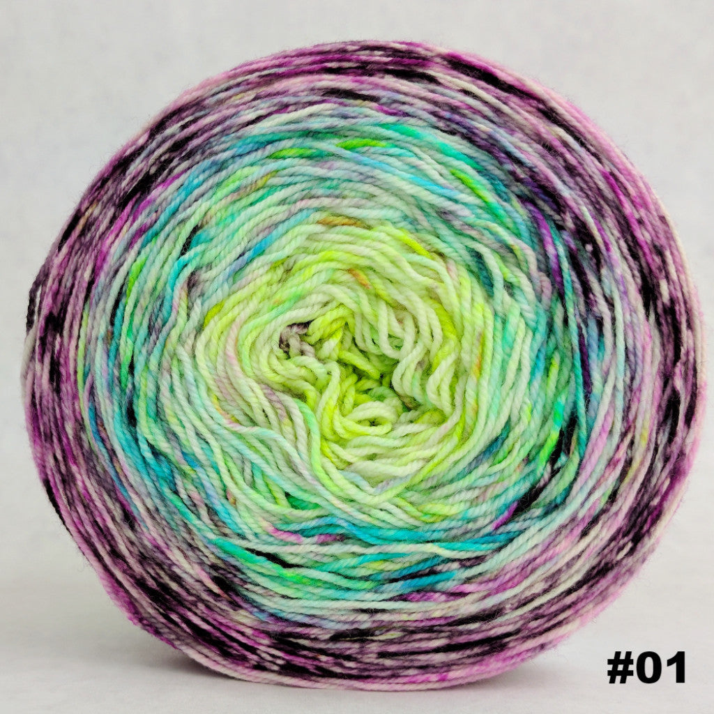 Electric Mayhem 150g Impressionist Gradient, Trampoline, choose your cake, ready to ship