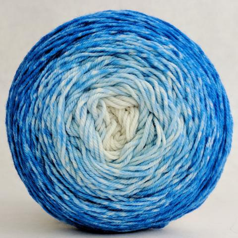 Tangled Up in Blue 50g Chromatic Gradient, Trampoline, ready to ship