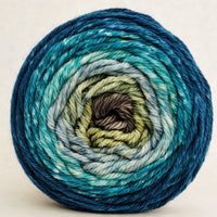 Knitcircus Yarns: Thanks for All the Fish 100g Panoramic Gradient, Ringmaster, ready to ship yarn