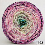 Knitcircus Yarns: Many Happy Returns 150g Impressionist Gradient, Trampoline, choose your cake, ready to ship yarn