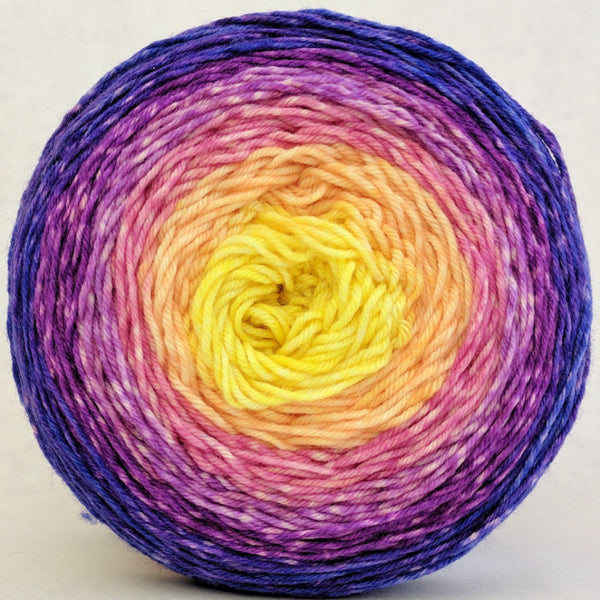 Knitcircus Yarns: Secret Garden 150g Panoramic Gradient, Greatest of Ease, ready to ship yarn