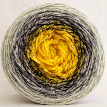 Knitcircus Yarns: Brass and Steam 150g Panoramic Gradient, Ringmaster, ready to ship yarn