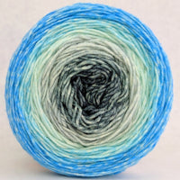Knitcircus Yarns: April Skies 100g Panoramic Gradient, Greatest of Ease, ready to ship yarn