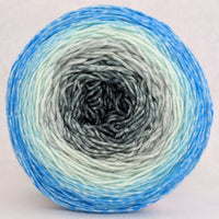 Knitcircus Yarns: April Skies 150g Panoramic Gradient, Greatest of Ease, ready to ship yarn
