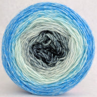 Knitcircus Yarns: April Skies 100g Panoramic Gradient, Opulence, ready to ship yarn