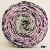 Knitcircus Yarns: Mistress of Myself 100g Impressionist Gradient, Greatest of Ease, choose your cake, ready to ship yarn