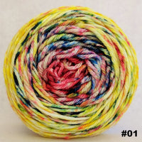 Knitcircus Yarns: Pippi Longstocking 100g Impressionist Gradient, Ringmaster, choose your cake, ready to ship yarn