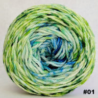 Knitcircus Yarns: Frog and Toad 100g Impressionist Gradient, Ringmaster, choose your cake, ready to ship yarn