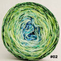 Knitcircus Yarns: Frog and Toad 100g Impressionist Gradient, Opulence, choose your cake, ready to ship yarn