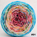 Knitcircus Yarns: Imaginary Best Friend 100g Impressionist Gradient, Trampoline, choose your cake, ready to ship yarn