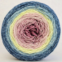 Knitcircus Yarns: Wallflower 150g Panoramic Gradient, Greatest of Ease, ready to ship yarn