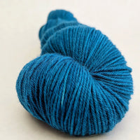 Knitcircus Yarns: Fly Me to the Moon 100g Kettle-Dyed Semi-Solid skein, Greatest of Ease, ready to ship yarn