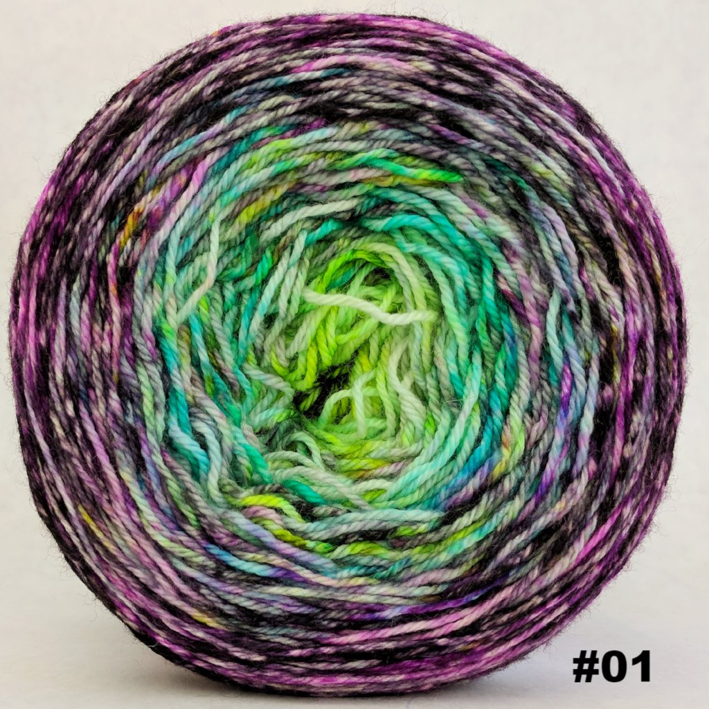 Electric Mayhem 150g Impressionist Gradient, Opulence, choose your cake, ready to ship