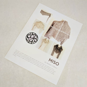 Pattern - Miso, by Ambah O'Brien, ready to ship - SALE