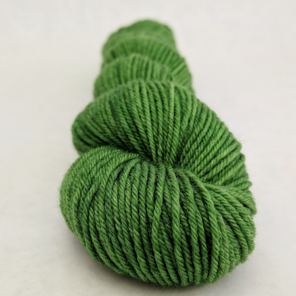 Parakeet 50g Kettle-Dyed Semi-Solid skein, Greatest of Ease, ready to ship