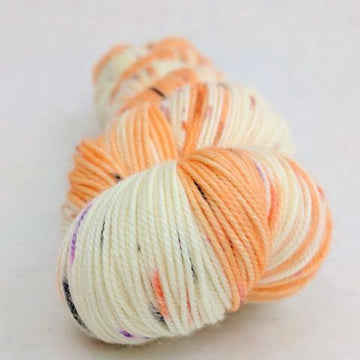 Knitcircus Yarns: Bewitched 100g Speckled Handpaint skein, Trampoline, ready to ship - SALE