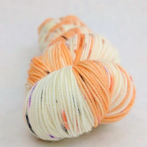Bewitched 100g Speckled Handpaint skein, Trampoline, ready to ship