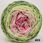Knitcircus Yarns: Holly and Ivy 100g Impressionist Gradient, Parasol, choose your cake, ready to ship yarn