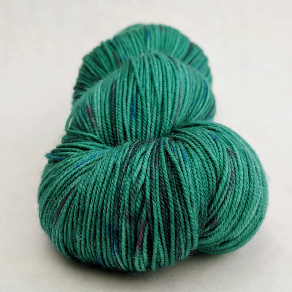What Kind of Bird Are You? 150g Speckled Handpaint skein, Trampoline, ready to ship