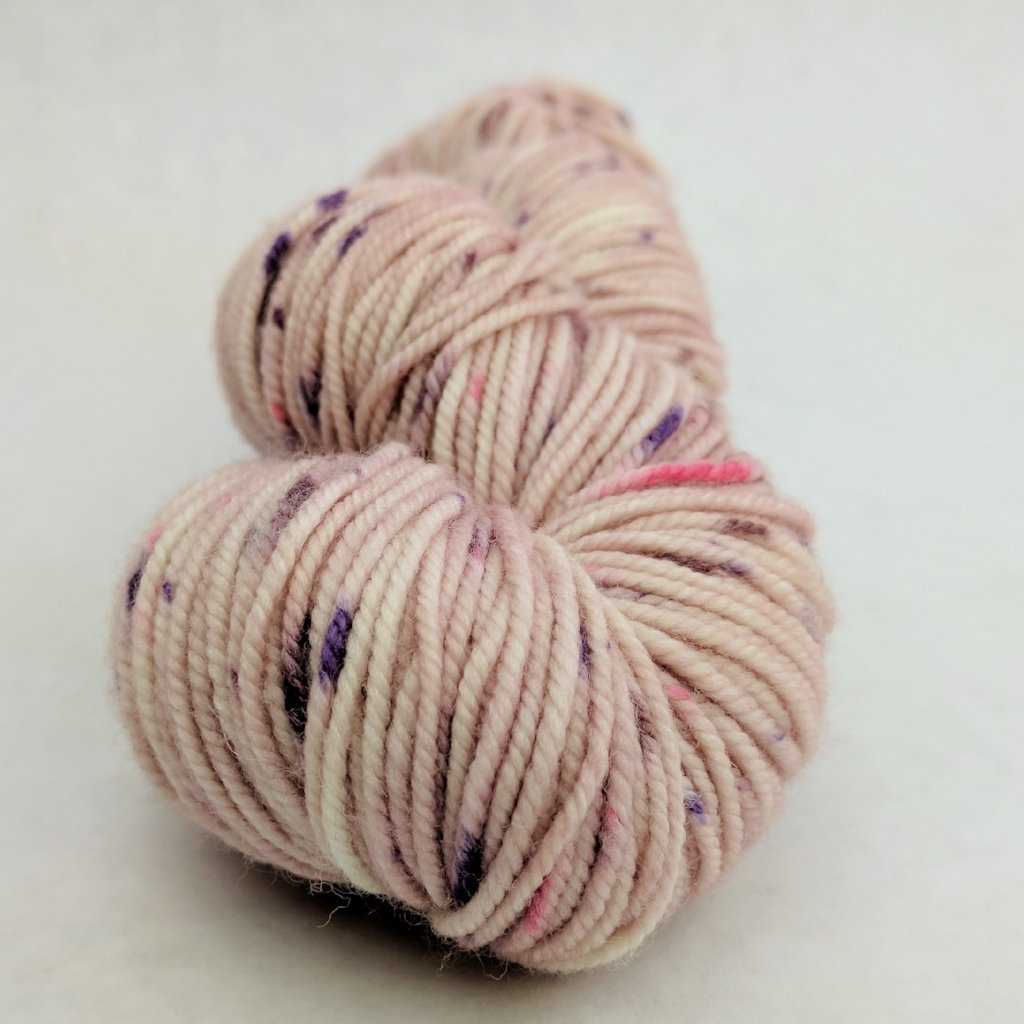 Fig and Prosciutto 100g Speckled Handpaint skein, Magnificent, ready to ship
