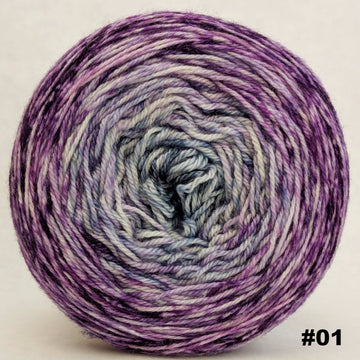Knitcircus Yarns: Mistress of Myself 150g Impressionist Gradient, Opulence, choose your cake, ready to ship yarn