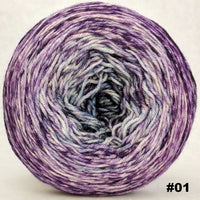Knitcircus Yarns: Mistress of Myself 150g Impressionist Gradient, Parasol, choose your cake, ready to ship yarn