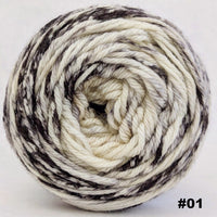 Knitcircus Yarns: Cookies and Cream 100g Impressionist Gradient, Ringmaster, choose your cake, ready to ship yarn