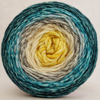 Knitcircus Yarns: Sea of Tranquility 150g Panoramic Gradient, Ringmaster, ready to ship yarn