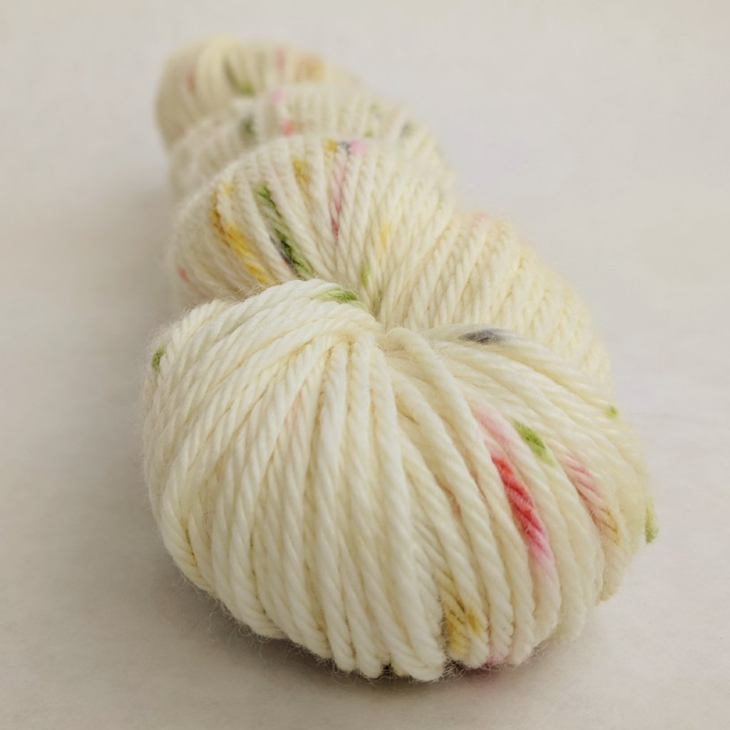 Moonrise Kingdom 100g Speckled Handpaint skein, Ringmaster, ready to ship - SALE