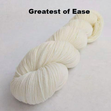 Knitcircus Yarns: Creamy Sheep skeins, dyed to order yarn
