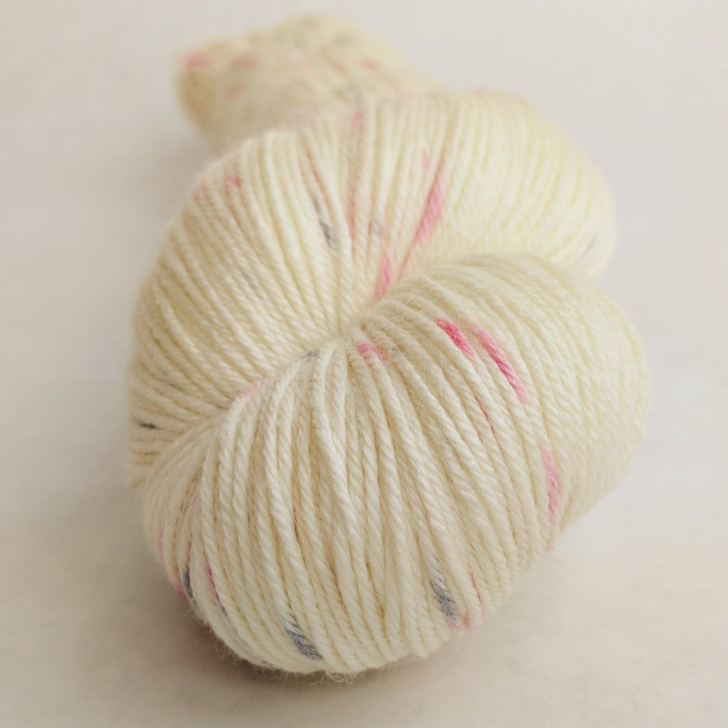 Come What May 100g Speckled Handpaint skein, Parasol, ready to ship