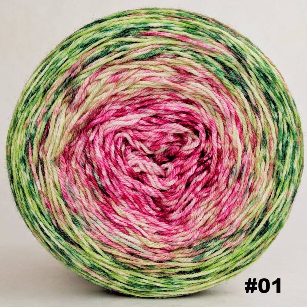 Holly and Ivy 150g Impressionist Gradient, Parasol, choose your cake, ready to ship
