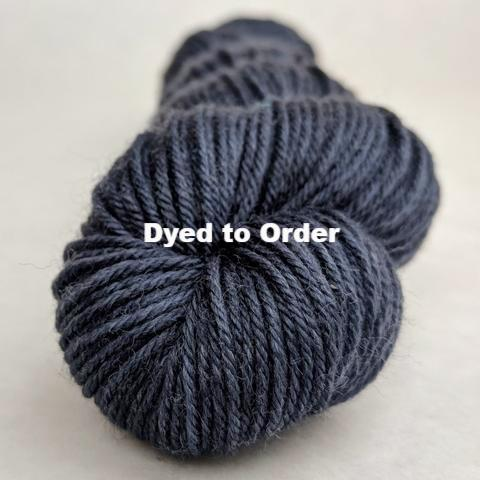 'Round Midnight Kettle-Dyed Semi-Solid skeins, dyed to order