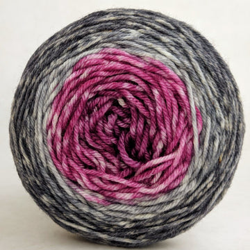 Knitcircus Yarns: What Happens At Knit Night... 50g Panoramic Gradient, Greatest of Ease, ready to ship yarn