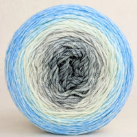 Knitcircus Yarns: April Skies 100g Panoramic Gradient, Parasol, ready to ship yarn