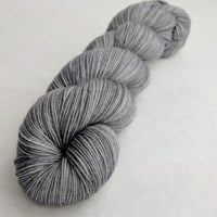 Knitcircus Yarns: Chimney Sweep 100g Kettle-Dyed Semi-Solid skein, Greatest of Ease, ready to ship yarn
