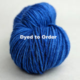 Guppy Pond Kettle-Dyed Semi-Solid skeins, dyed to order