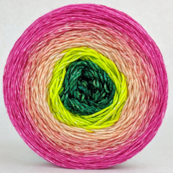 Knitcircus Yarns: The Can Can Can 150g Panoramic Gradient, Greatest of Ease, ready to ship