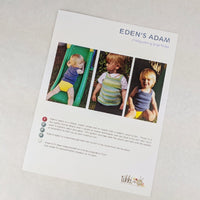Pattern - Eden's Adam Baby Vest, by Georgie Nicolson, ready to ship