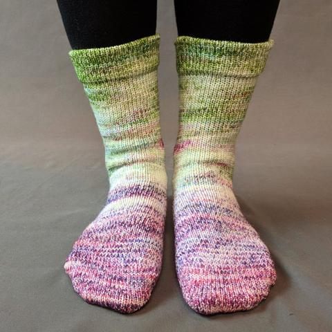 Knitcircus Yarns: Many Happy Returns Impressionist Matching Socks Set (medium), Greatest of Ease, choose your cakes ready to ship yarn
