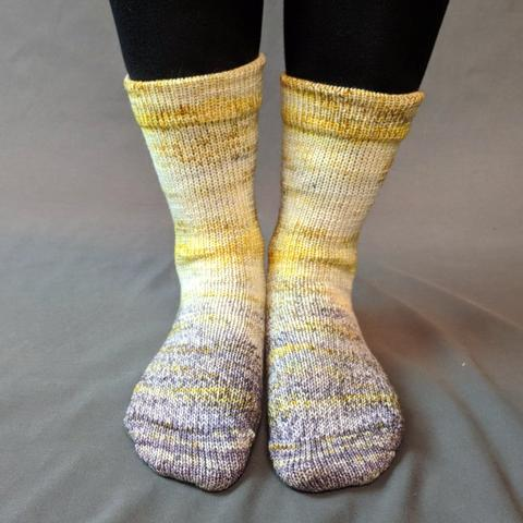 Brass and Steam Impressionist Matching Socks Set (medium), Greatest of Ease, choose your cakes, ready to ship